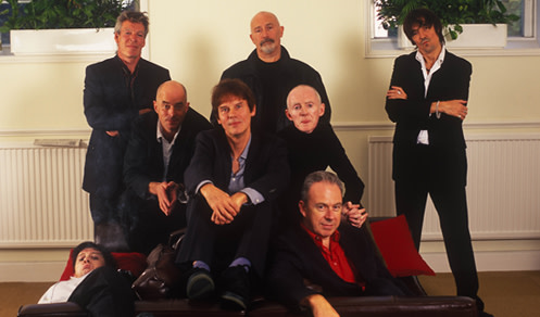 The Pogues band photo