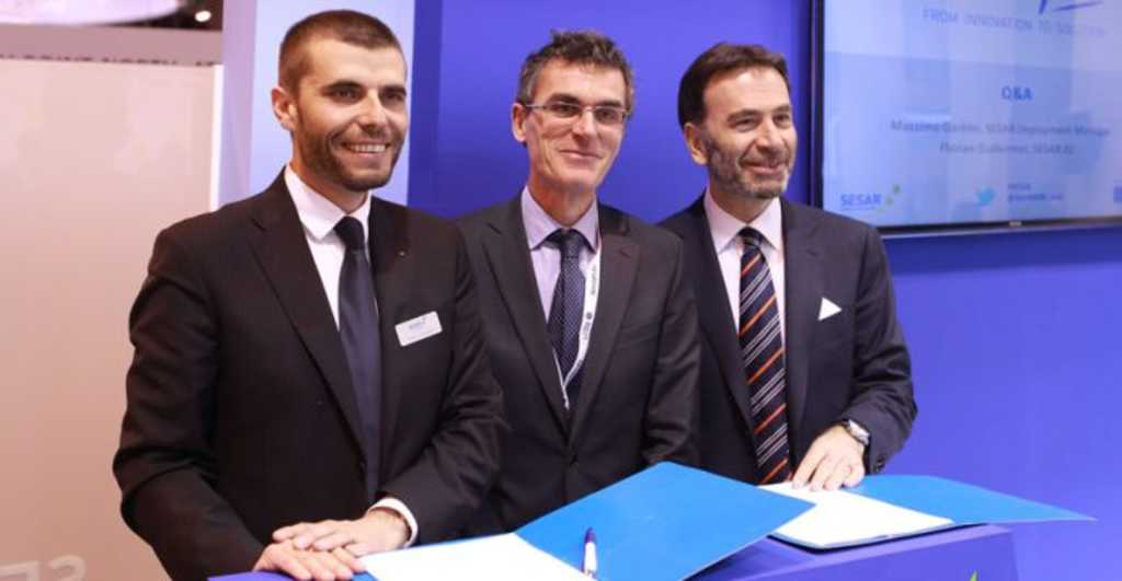 SESAR cooperation agreement signed, sealed and delivered