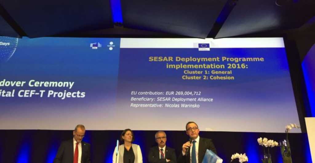 Close to 269 million euro support for modernising air traffic management