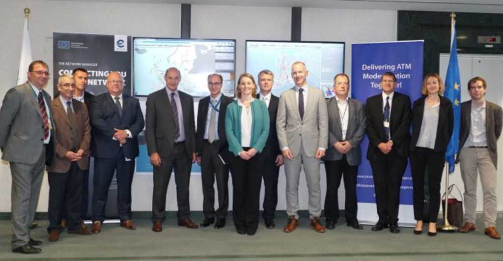 European Commission and INEA visit Network Manager (EUROCONTROL) to monitor progress in financed projects