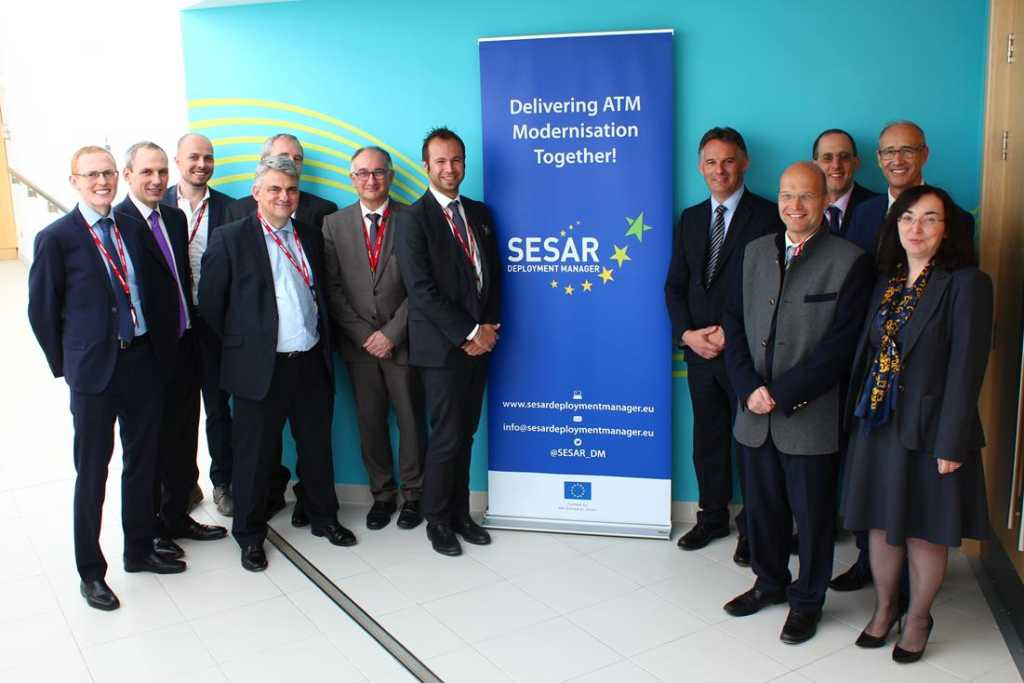 Visit showcases SESAR deployments in UK