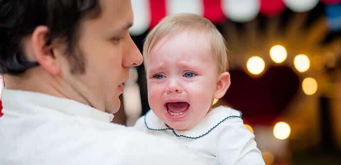חרדת נטישה אצל תינוקות
