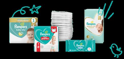 המוצרים האהובים של פמפרס לתינוק
