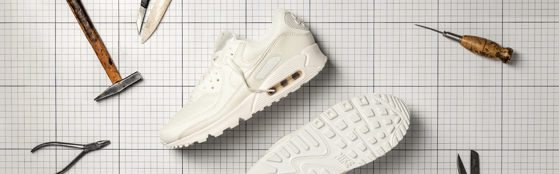 2019 Marke® Nike Air Max 90 Mädchen Grundschule Running
