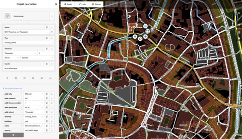 MoR: OpenStreetMap & Wiring HI-Devices and Socket.IO using Node.js