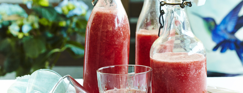 Raikkaan kesäiset drinkit ja juomat
