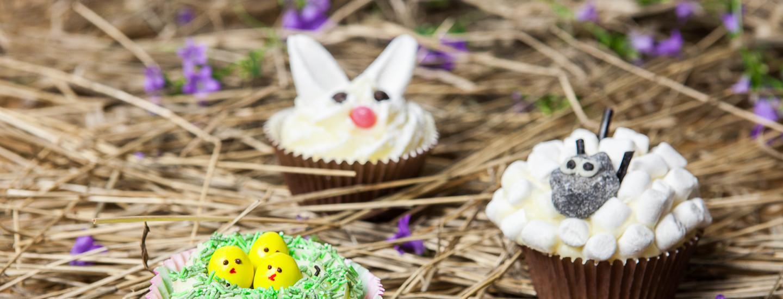 Kuppikakut pääsiäisasussa – 5 hauskaa koristeluideaa