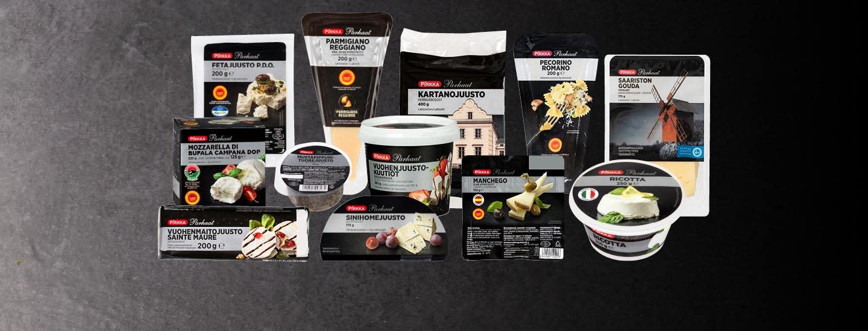 Pirkka Parhaat -juustot Plussa-kortilla -20%