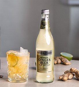 Fever Tree ginger ale kuvitus