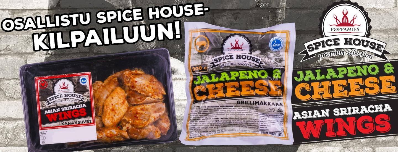 Poppamies Spice House Premium Selection –arvonta