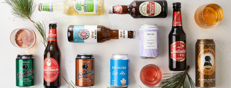 Makutestissä joulun alkoholittomat uutuusoluet ja siiderit