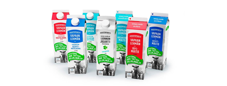 Vastuullista lehmänmaitoa Juustoportilta