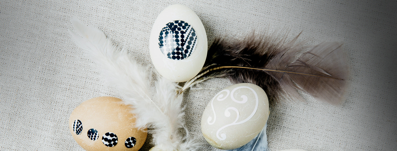 5 x helpot ja hauskat pääsiäiskoristeet
