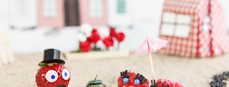 Lasten makusatu: Puutarhamarjojen torikokous