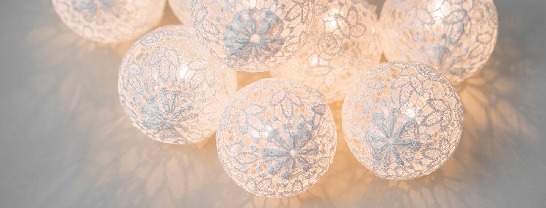 Tunnelmalliset valot kotiin ja terassille
