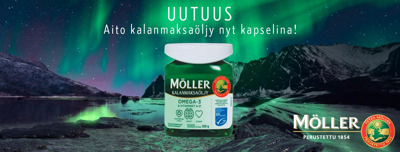 Kestävän kehityksen omega-3-kapselit
