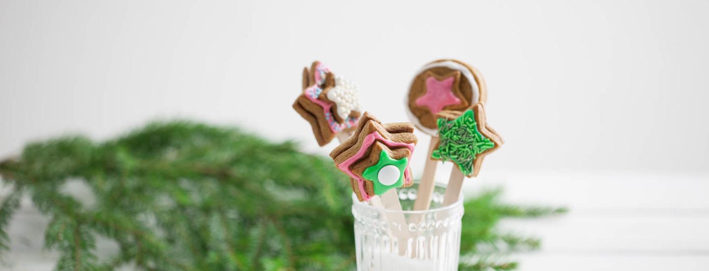 Joulun söpöimmät piparitikkarit