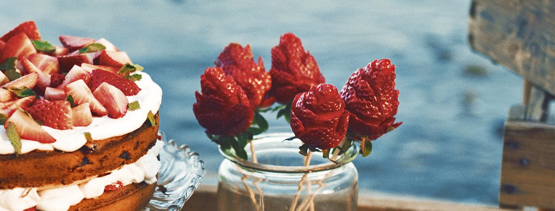 Valloittavat mansikkaruusut - katso ohjevideo