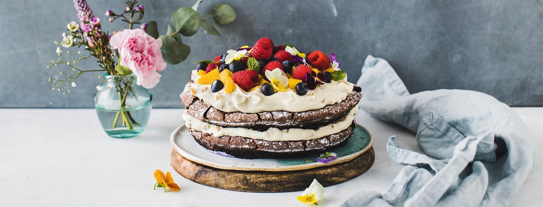 Helppo kakku äidille x 5
