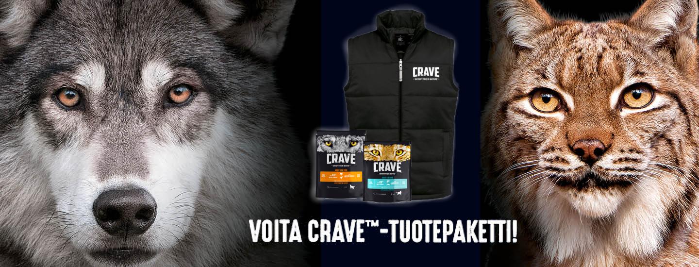 Osallistu ja voita CRAVE™ -tuotepaketti!