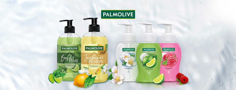Palmoliven vaahtonestesaippuat ja Parfum-nestesaippuat