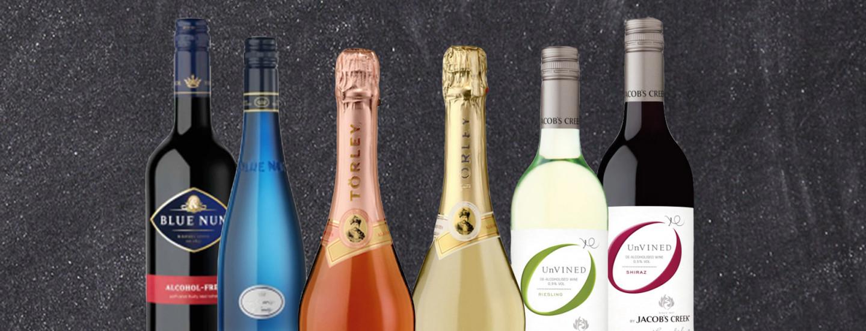 Alkoholittomat viinit kesäkekkereille