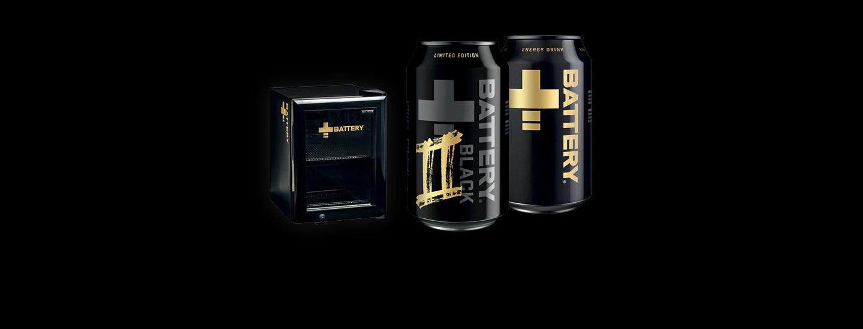 Osta Battery ja voita minijääkaappi täynnä Battery-uutuusmakua