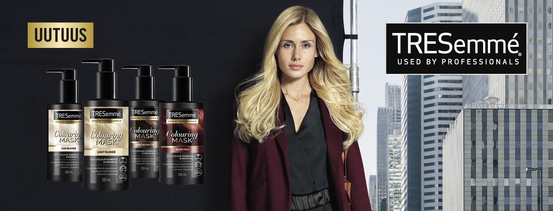 TRESemmé-sarjan ajankohtaiset uutuudet - helppokäyttöiset hiusvärinaamiot