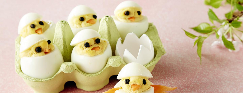 Pääsiäisen söpöt tipumunat