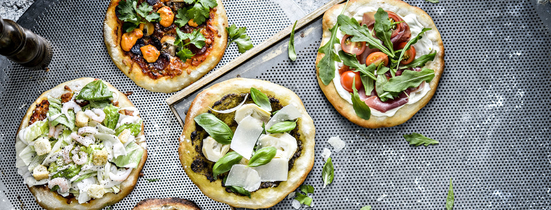 Kaiken maailman pizzat