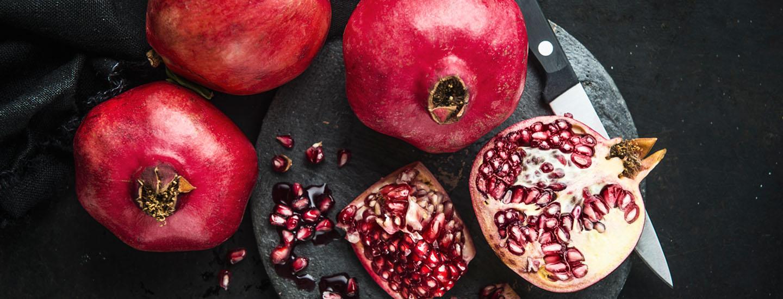 Superruokaa granaattiomenasta