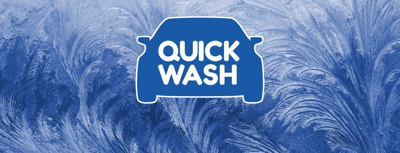 Kurvaa lähimmälle Quick Wash -pesuasemalle talvitehopesuun!