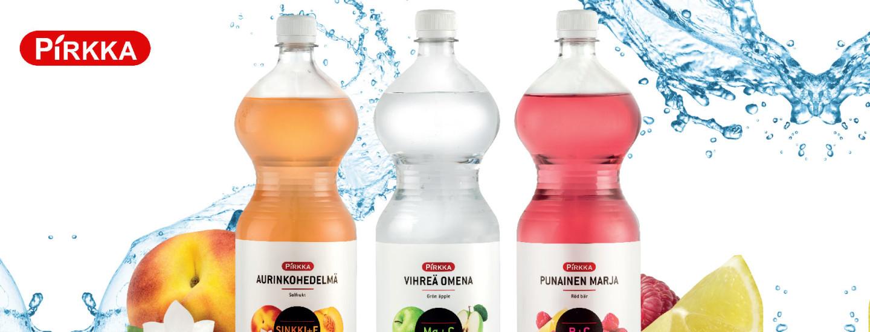 Raikkaat Pirkka vitamiinivedet