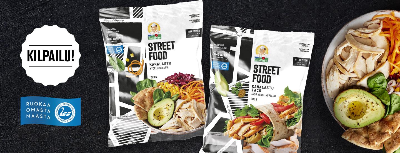Osallistu STREET FOOD KANALASTUT -kilpailuun ja voita Snellmanin 100 €:n tuotelahjakortti
