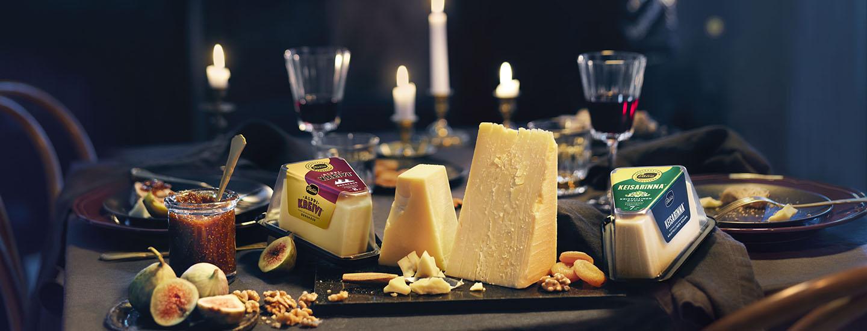 Osallistu ja voita Valion juustolahjapakkaus