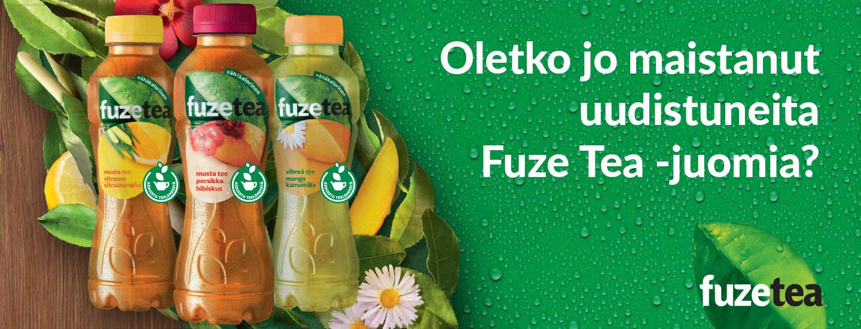 Voita Fuze Tea -tuotepaketti