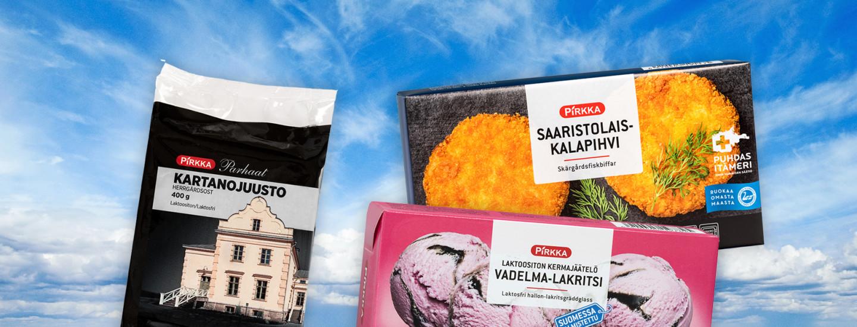 Pirkka-sarjasta löydät helposti suomalaista