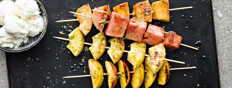 Jälkiruoat grillistä