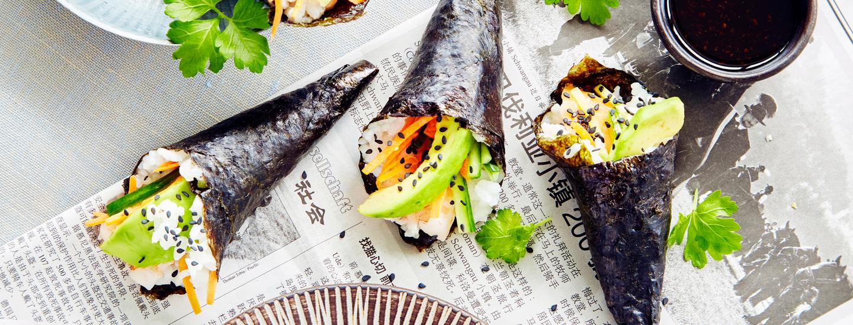 Japanin jalot maut  – Sushi