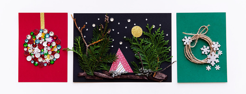 Askartele itse ihanat joulukortit