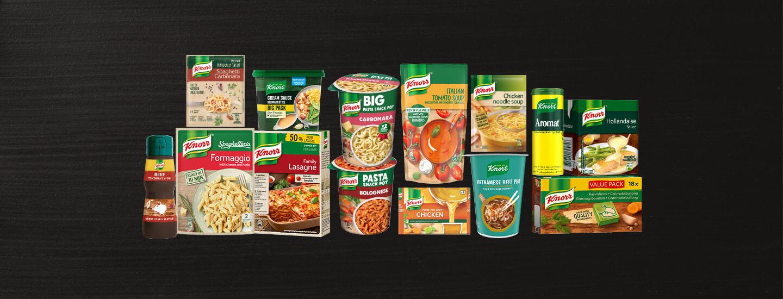 Helpot ja maistuvat Knorr-tuotteet