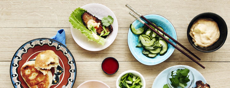 Pöytä Koreaksi - reseptit tuliseen ja tuhtiin ruokaan