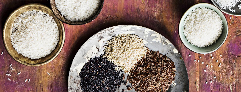 Opas erilaisiin riiseihin