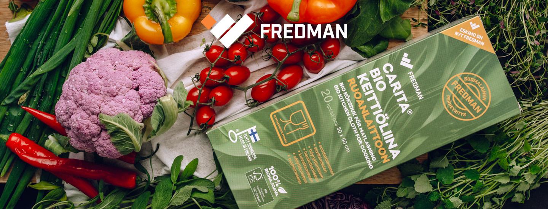 Viisi vinkkiä uuden Fredman Carita® Bio keittiöliinan käyttöön kodin askareissa