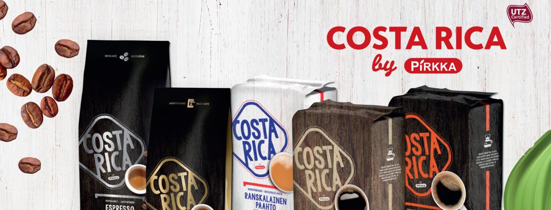 Pirkka Costa Rica -kahvit hemmottelevat kahvin ystävää
