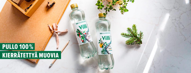 Uudet, vastuulliset Villi-juomat ovat täällä
