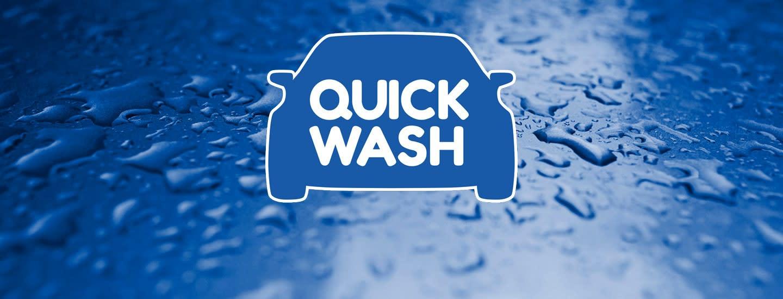 Quick Wash — asemat ja pesuohjelmat