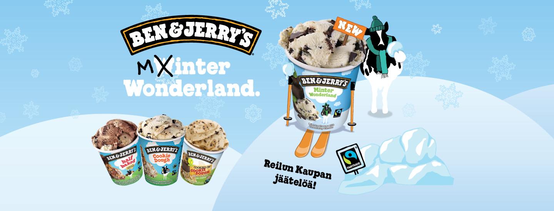 Nauti reilua jäätelöä - voita elämyslahjakortti!