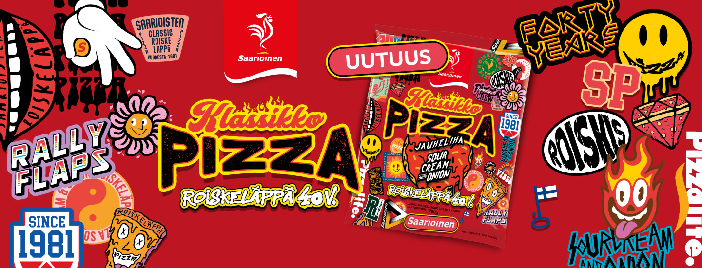 Osta neljä Saarioisten pizzaa ja voita iPhone