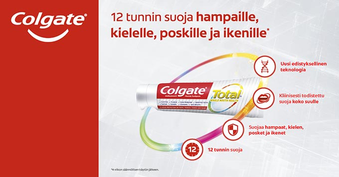 COLGATE Total Launch 680